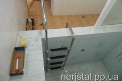 Лестница из нержавейки в бассейн Житомир