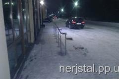 Ограждения из нержавейки Новоград-Волынский