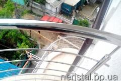 Ограждения балкона из нержавейки Одесса