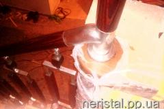 Ограждения лестница из нержавейки Новоград-Волынский