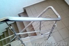 Ограждения лестницы из нержавейки РЭС Житомир